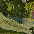 Idyllic, pre-first world war painting unveiled at scottish national portrait gallery