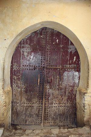 une des entrées de la Kissaria el HARIR Mekhnes