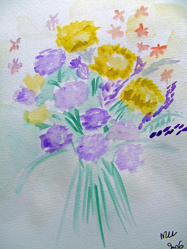 BOUQUET DE FLEURS SAUVAGES - WILD FLOWERS