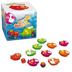 Boutique jeux de société - Pontivy - morbihan - ludis factory - Splash attack