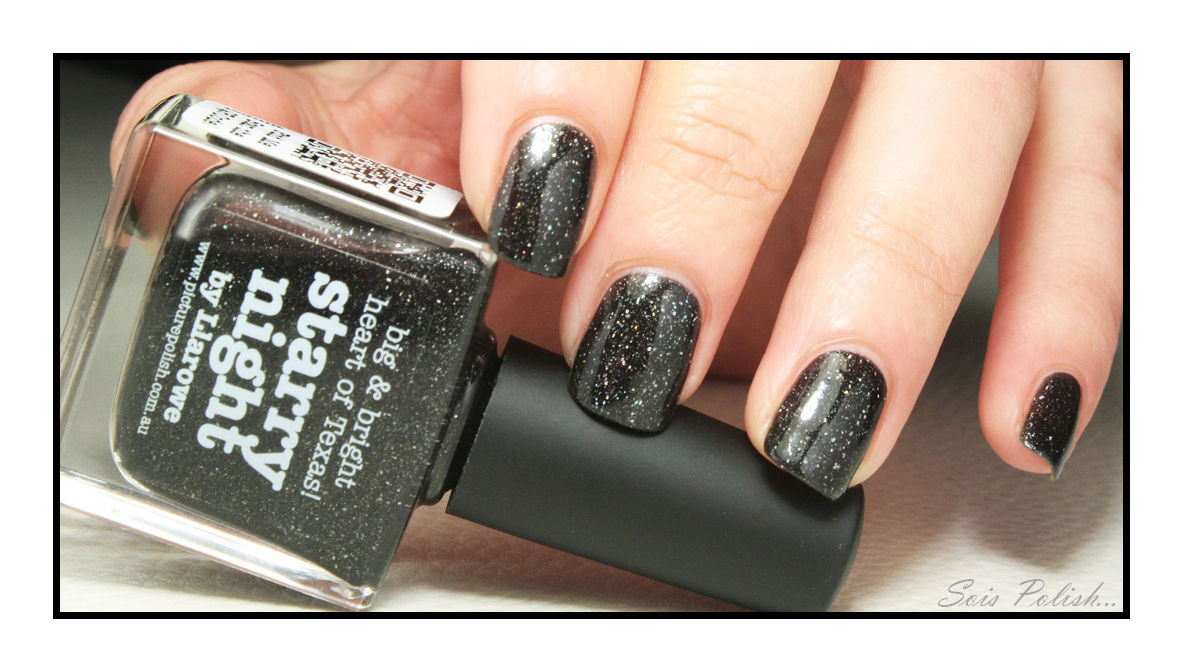 Starry Night // Picture Polish + Résultat du Concours Secret !