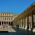Instantané au Palais-Royal.