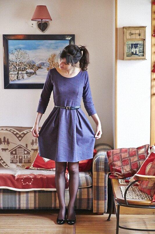 Robe Bordeaux Romanne Couture 2
