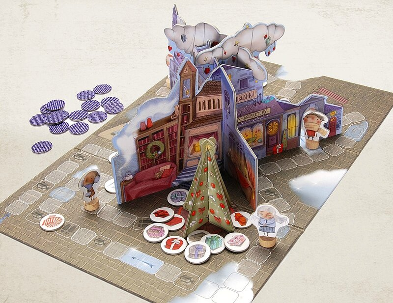 Boutique jeux de société - Pontivy - morbihan - ludis factory - Christmas Tale Board