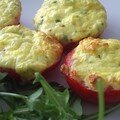Tomates soufflées au chèvre