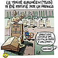 Le Trait Europen ratifi