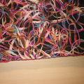 Echarpe laine feutrée