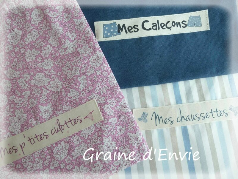 collection de sacs pochons