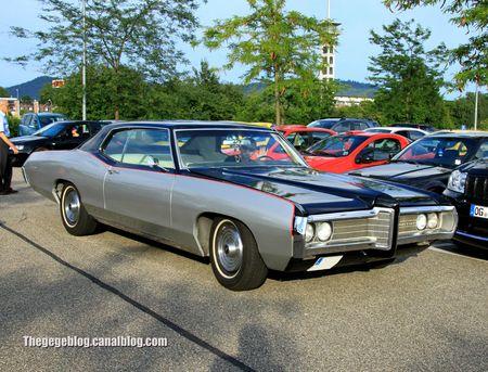 Pontiac catalina hardtop coupe de 1969 (Rencard Burger king juillet 2012) 01