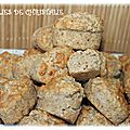 Bouchées okara d'amandes , flocons d'avoine (thermomix tm 5 , tm 31 ou pas )