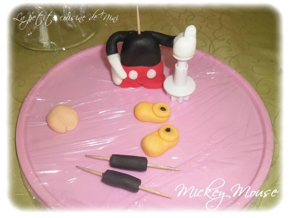 Exceptionnel Gâteau d'anniversaire Mickey - La petite cuisine de Nini  FA02