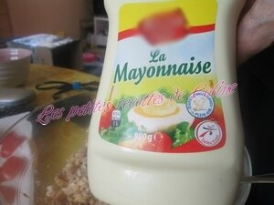 Tomates farcies froide Thon,oeuf mayonnaise13
