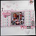 Une page pour l'album de lola et annonce crop...