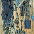 ABSTRACTION LYRIQUE 1953_Sable de bois_Bryen