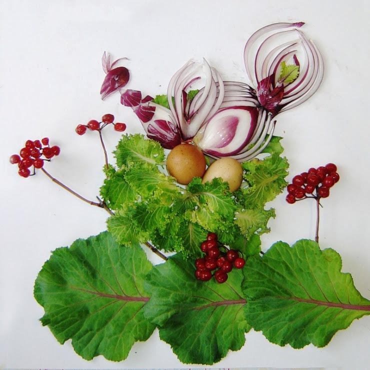 Bouquet d'oignons artiste inconnu