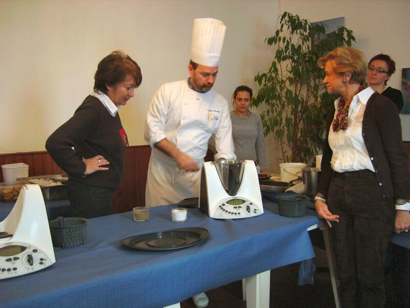 atelier culinaire thermomix - pause cuisine