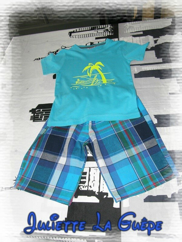 ensemble spectacle short ts