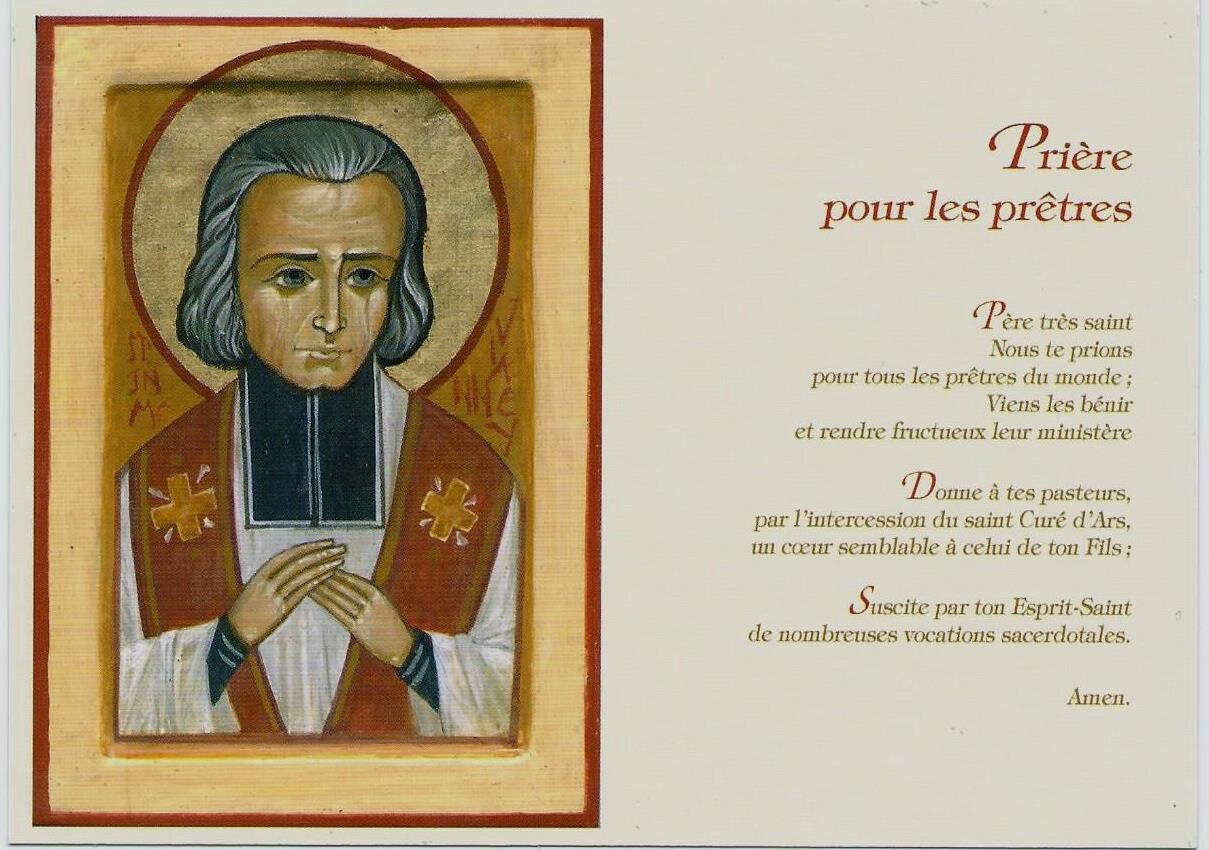 Neuvaine par l'intercession du saint Curé d'Ars et de sainte Philomène pour une grâce particulière  87555970_o