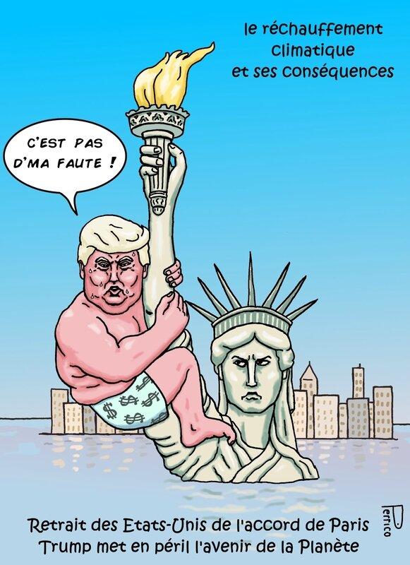 trump statue de la liberté 2 juin 2017