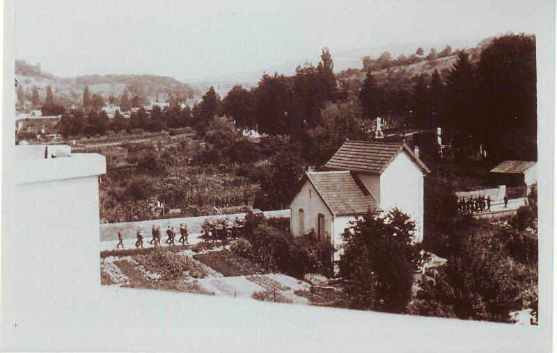 enterrement soldats allemands 2 bas rue de Chalezeule C