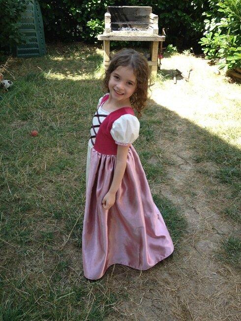 robe raiponce 3