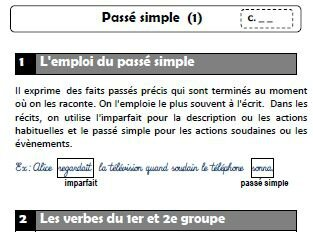 image Passe simple