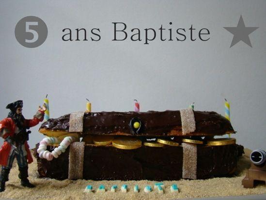 gâteau baptiste