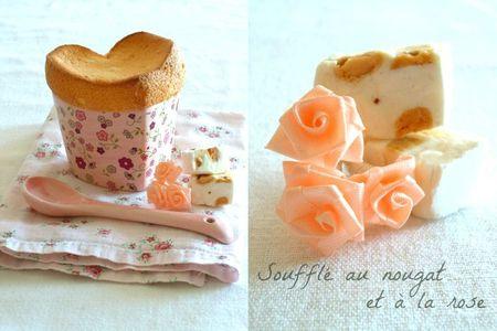 soufflé nougat rose (758)