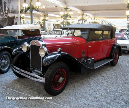 Lancia dilambda torpedo de 1929 (Cité de l'Automobile Collection Schlumpf à Mulhouse) 01