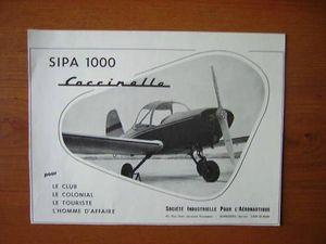 brochure publicitaire SIPA1000 coccinelle2