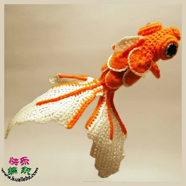 Crochet - Defi Poisson Rouge - Lunivers de Julie