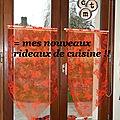 Le 1er tuto (diy) 2014: recycler un chemin de table en .....rideaux !!