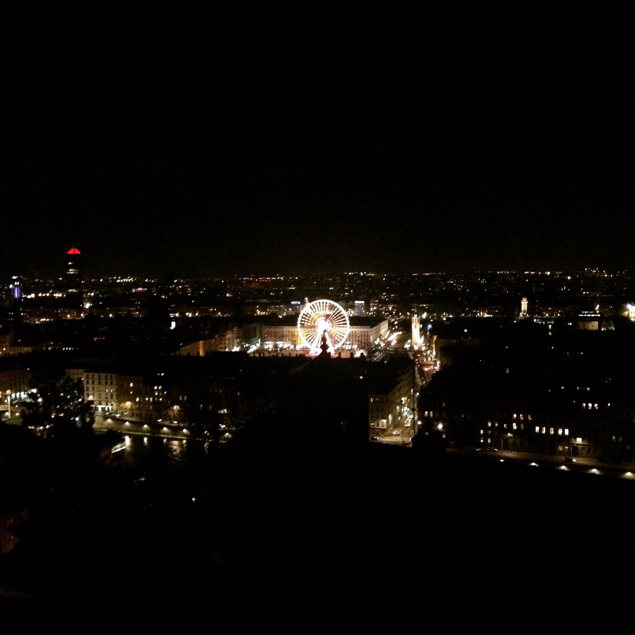 1-vue de Lyon-panoramique
