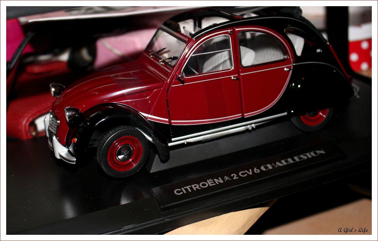 2cv charleston miniature