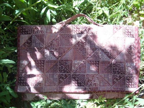 Cartable de patchwork