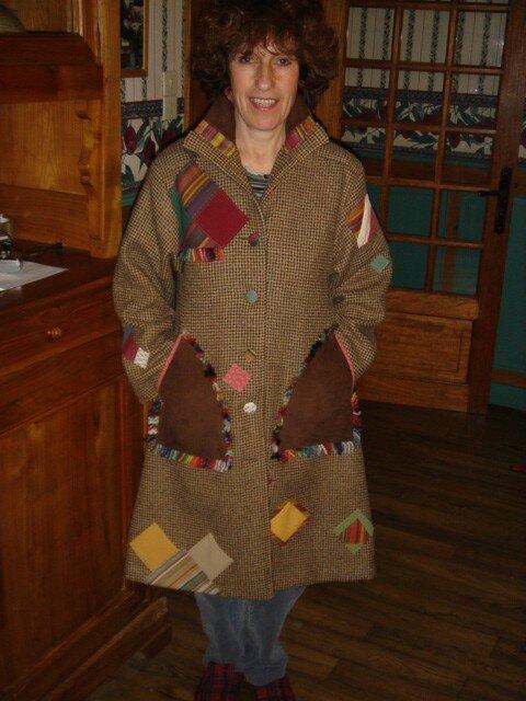 une custo pour un manteau