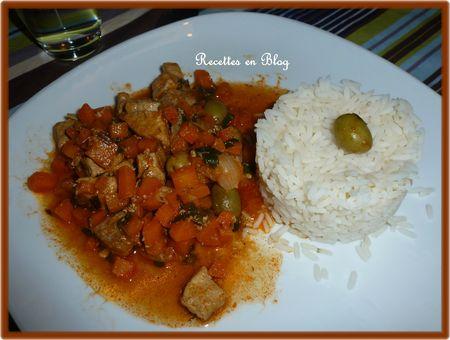 sauté de porc aux carottes et olives vertes2