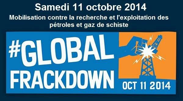 global frackdown 2014