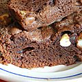 Nutty brownie
