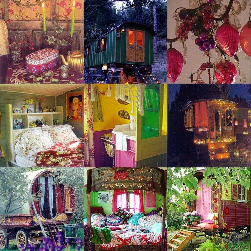 Le temps des gitans alma chita for Roulotte decoration