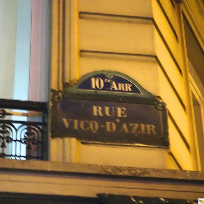 8 rue Vicq-d'Azir
