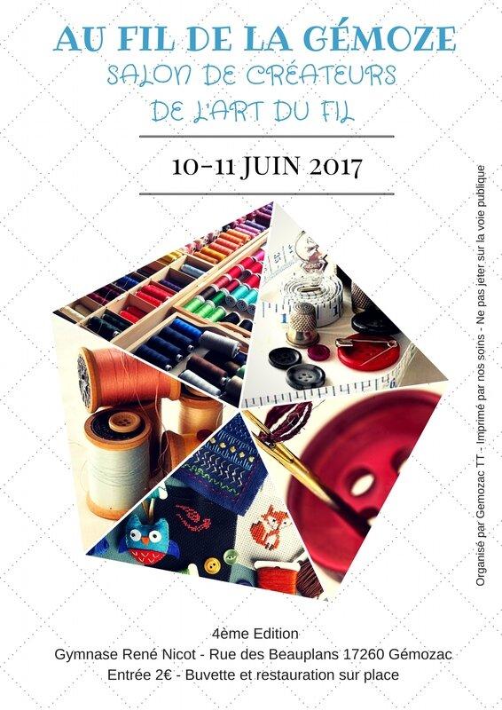 affiche salon de Gémozac 2017