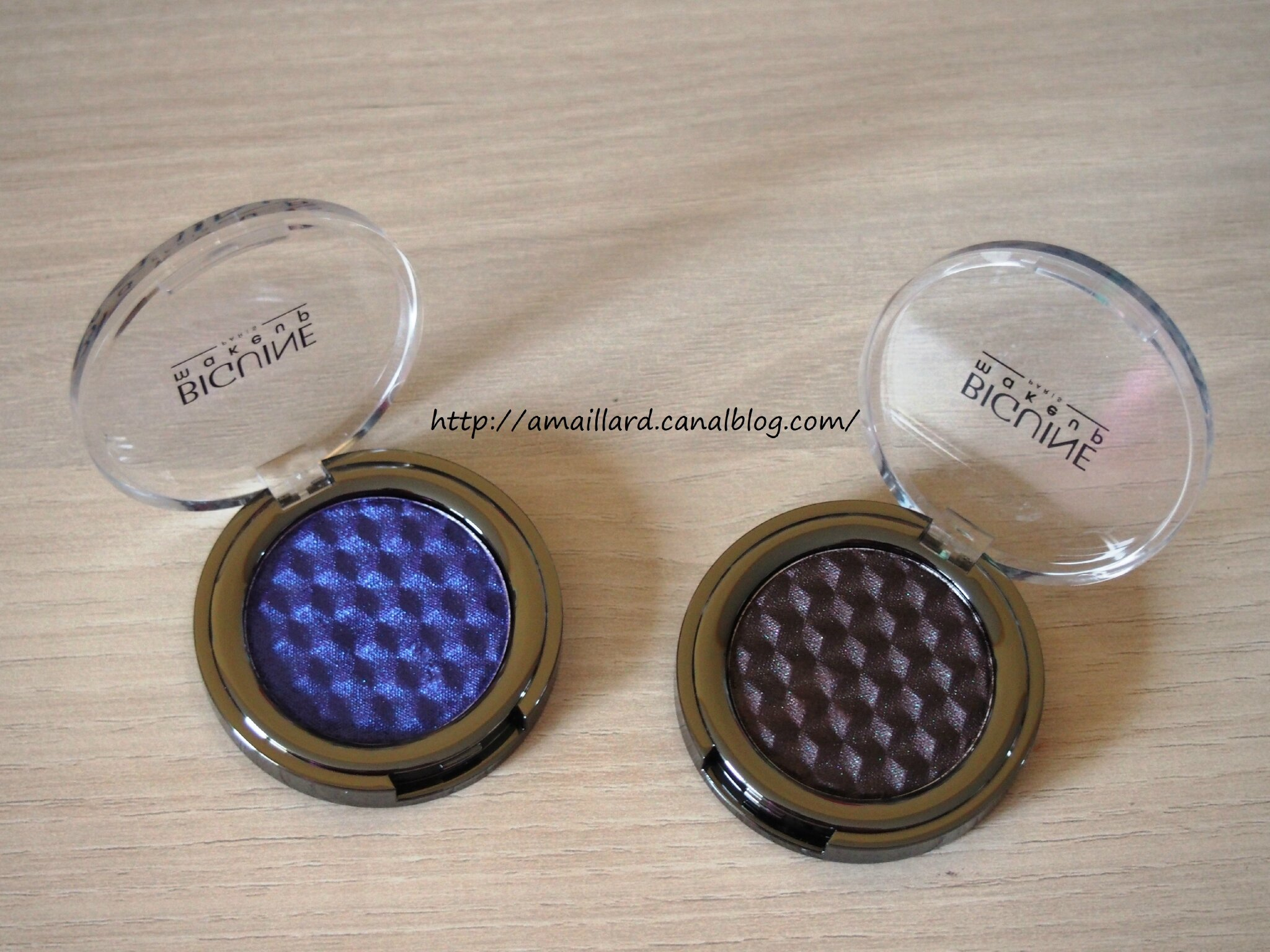 BIGUINE MULTICHROME EYESHADOW:PRESENTATIONS/SWATCHS & MAKEUPS.....