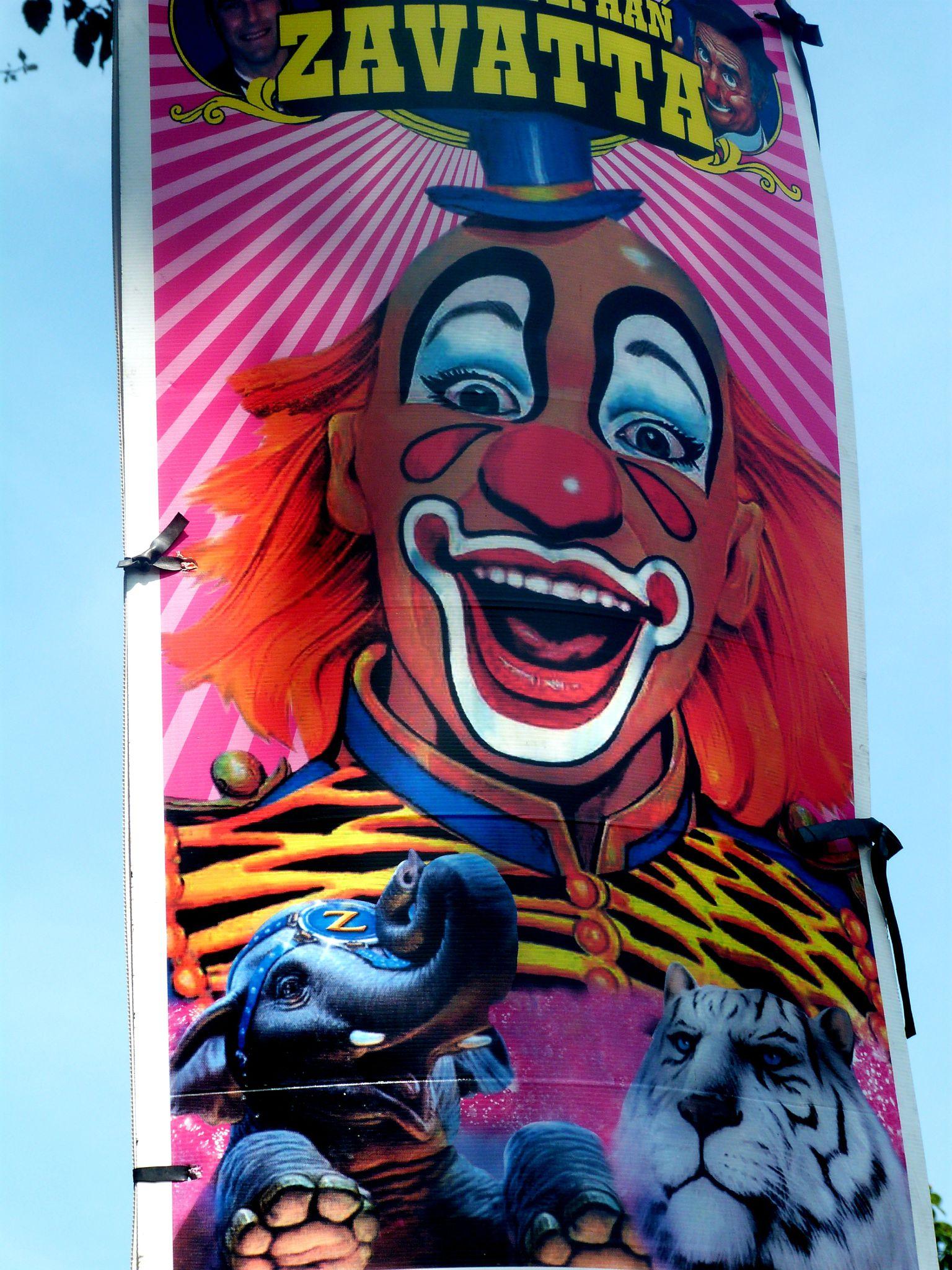Bien connu Le cirque s'affiche  - Les collages de Valérie CM93