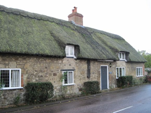 Godshill (Isle of Wight) - Un typique cottage anglais