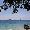 Malaisie 17 - perenthian islands # 1 : entre forêt tropicale et mer