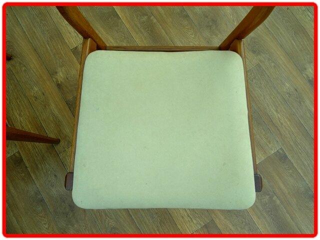 chaises vintage scandinave bois clair 1950-1960
