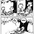 Calvin et hobbes tu fais quoi?