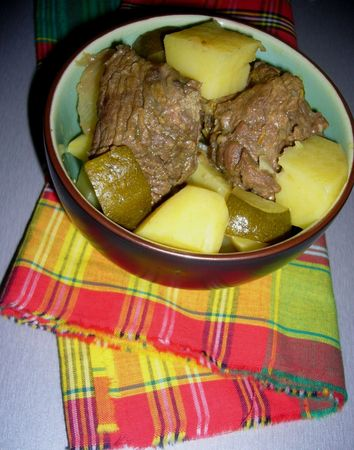 mijote boeuf antillais
