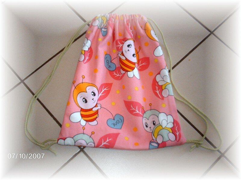Petit sac Juliette (sac à ballerines...)